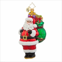 Hefty Haul Santa Radko Ornament