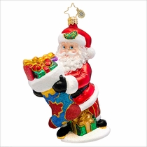 (SOLD OUT) Holding On For Hope Austism Awareness  Radko  Ornament