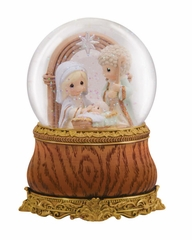Holy Family - Musical Water Globe