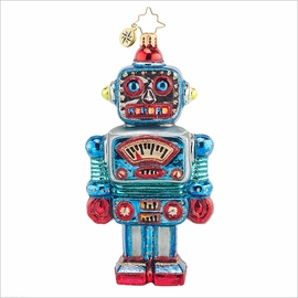 (SOLD OUT) Irving the Robot Radko Ornament