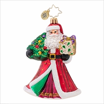 Joyful Visitor Radko Ornament