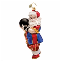 Kingpin Claus  Radko Christmas Ornament