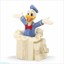 Lenox Classics Disney Donald Ducks Surprise Gift