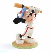 Lenox Classics Disney Mickey Up At Bat