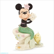 Lenox Classics Disney Minnie Under the Sea Mermaid