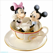 Lenox Mickey's Teacup Twirl Sculpture