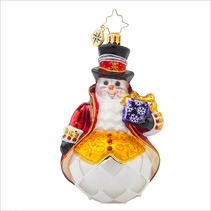 Lord Frost Radko Ornament