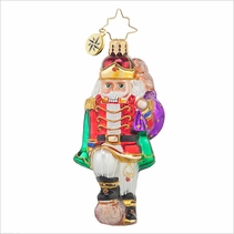 Major Cracker Gem Radko Ornament