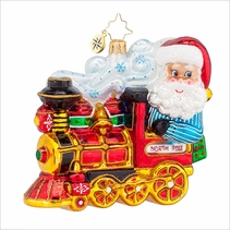 North Pole Express Radko Ornament