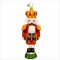 Otto Von Cracker Radko Christmas Ornament