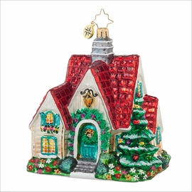 (SOLD OUT) Perfect Cottage Radko Ornament