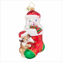 Pip and Paw Radko Ornament