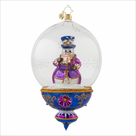 (SOLD OUT) Plum Frosty Radko Ornament