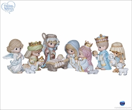 (SOLD OUT) Precious Moments 11 Piece Mini Nativity Set