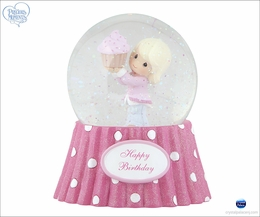 Precious Moments Happy Birthday - Musical Water Globe