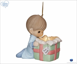 Precious Moments The Wonder of Christmas Boy Ornament