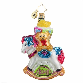 (SOLD OUT) Rocking New Year Gem  Radko Ornament