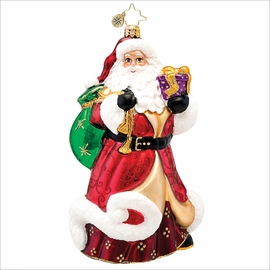 (SOLD OUT) Ruby Robe Kringle Radko  Christmas Ornament