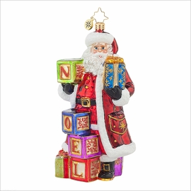 Simply Noel  Radko Ornament