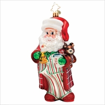 (SOLD OUT) Sleepytime Santa Radko Christmas Ornament