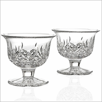 Waterford Lismore Small Footed Bowl Pair