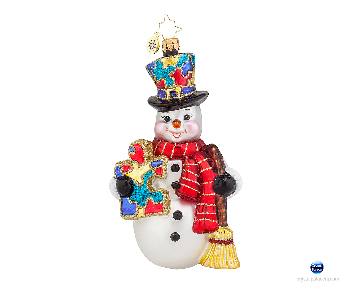 1017951 Christopher Radko Snow Frost memories Christmas Ornament