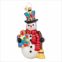 Snow Frost memories  Radko Ornament