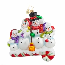 Snow one like Family!  Radko Ornament