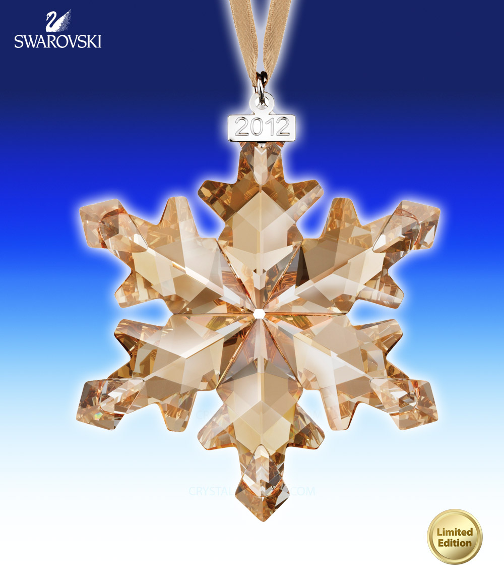 1139970 Swarovski SCS Christmas Ornament, Annual Edition 2012