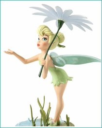 ( Sold Out ) Tinker Bell with Daisy Umbrella  A Splash of Spring