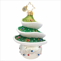 (SOLD OUT) Sprightly Spruce Gem Radko  Christmas Ornament