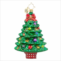 Sprightly  Spruce  Radko Ornament