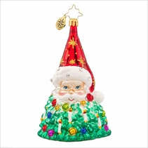 St. Nick Brilliance  Radko Ornament