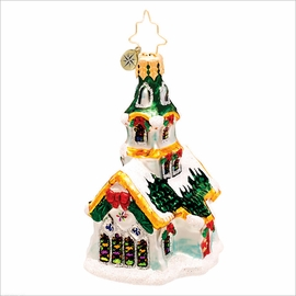 (SOLD OUT) Stained Glass Stunner Gem Radko Christmas Ornament