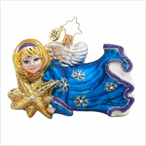 (SOLD OUT) Starlight Angel  Radko Ornament