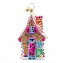 (SOLD OUT) Sugary Chateau  Radko Ornament