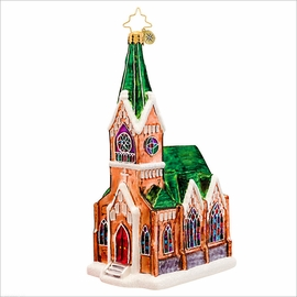 (SOLD OUT) Sunday Blessings  Radko Christmas Ornament