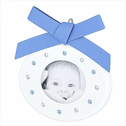 (SOLD OUT) Baby Picture Frame Light Sapphire