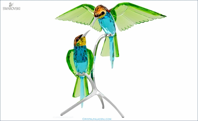 (RETIRED - SOLD OUT) Bee-eaters, Peridot