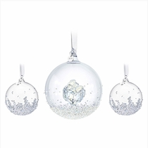 Christmas Ball Ornament Set 2016