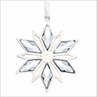 (SOLD OUT) Christmas Ornament, Silver Star