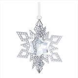 SOLD OUT Christmas Ornament Star, Silver Tone