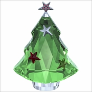 (SOLD OUT) Swarovski Christmas Tree, Chrysolite