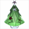 Swarovski Christmas Tree, Chrysolite 2013