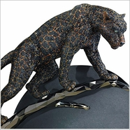 NEW 2014   Swarovski Crystal Myriad Moonlight The  BlackJaguar