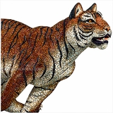 (SOLD OUT) Crystal Myriad Tiger Sabu Large