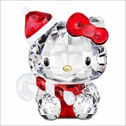(RETIRED SOLD OUT)  Swarovski Hello Kitty Santa