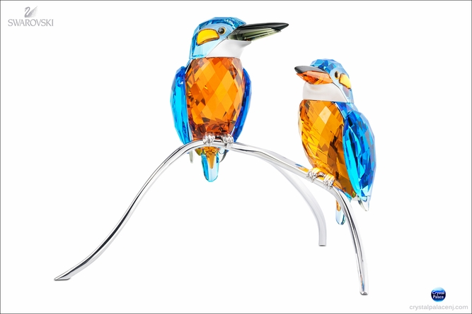 (SOLD OUT) Kingfishers, Blue Turquoise