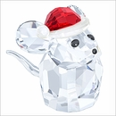 SOLD OUT Mouse with Santa's Hat