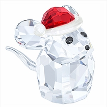 (SOLD OUT) Mouse with Santa's Hat